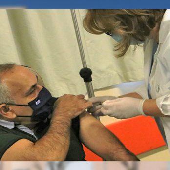 Έγιναν οι πρώτοι εμβολιασμοί covid-19 στο Πανεπιστημιακό Νοσοκομείο Λάρισας cover image