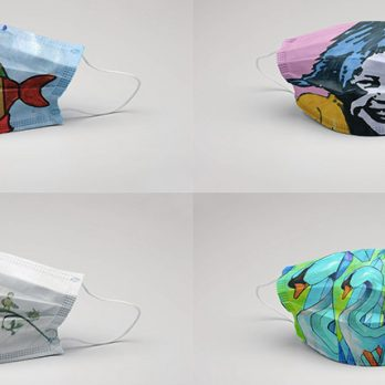 Έργα τέχνης σε μάσκες από τον Σύλλογο Γονέων – Κηδεμόνων Ατόμων με Αυτισμό Λάρισας cover image