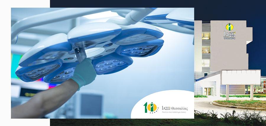 Α΄ Χειρουργική Κλινική ΙΑΣΩ Θεσσαλίας: Πρωτοποριακός εμβολισμός της σπληνικής αρτηρίας προεγχειρητικά σε ασθενή article cover image