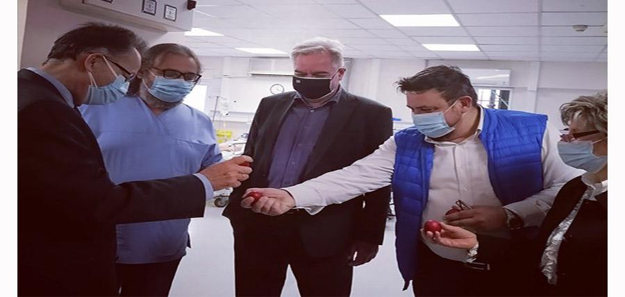 Επίσκεψη του Διοικητή της 5ης ΥΠΕ στο Γενικό Νοσοκομείο Λάρισας article cover image