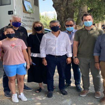 Ξεκίνησαν οι εμβολιασμοί κατά του κορωνοϊού στις Κινητές Μονάδες  της Περιφέρειας Θεσσαλίας και της 5ης ΥΠΕ cover image