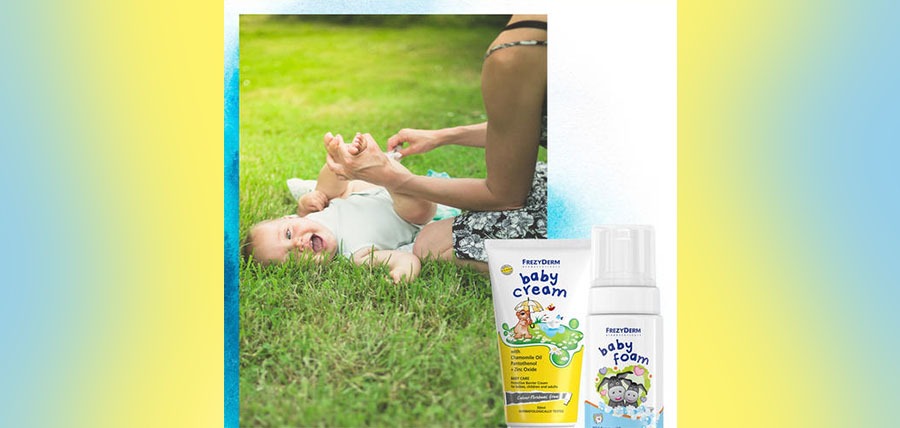 FREZYDERM –  BABY CREAM & BABY FOAM article cover image