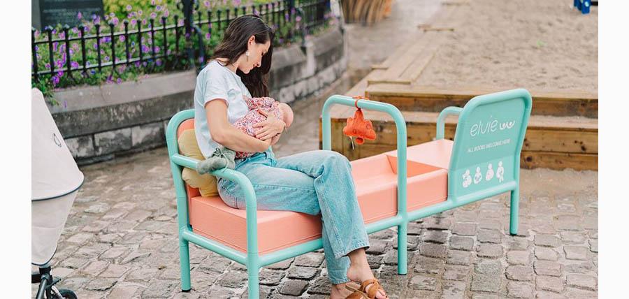 ΒΕΛΓΙΟ:Το πρώτο παγκάκι θηλασμού article cover image